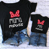 Family Tshirts Fashion mommy and me clothes baby girl clothes MINI and MAMA Fashion Cotton Family Look Boys Mom Mother Clothes - Hillmarten