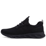 Men Light Sneakers Men Breathable Jogging Shoes - Hillmarten