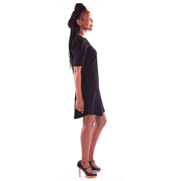 Womens Mini Black Dress