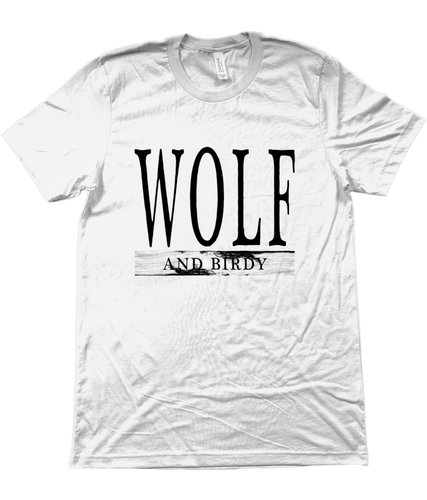 WOLF AND BIRDY VINTAGE TEE