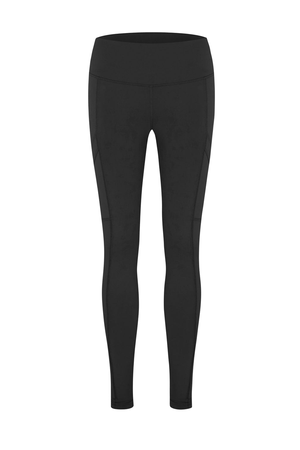 Tara pocket Full Length Tight - BLACK
