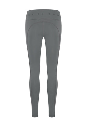Tara Pockets Full Length Tight - GREY