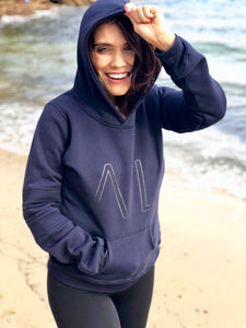 LUCY HOODIE - Navy