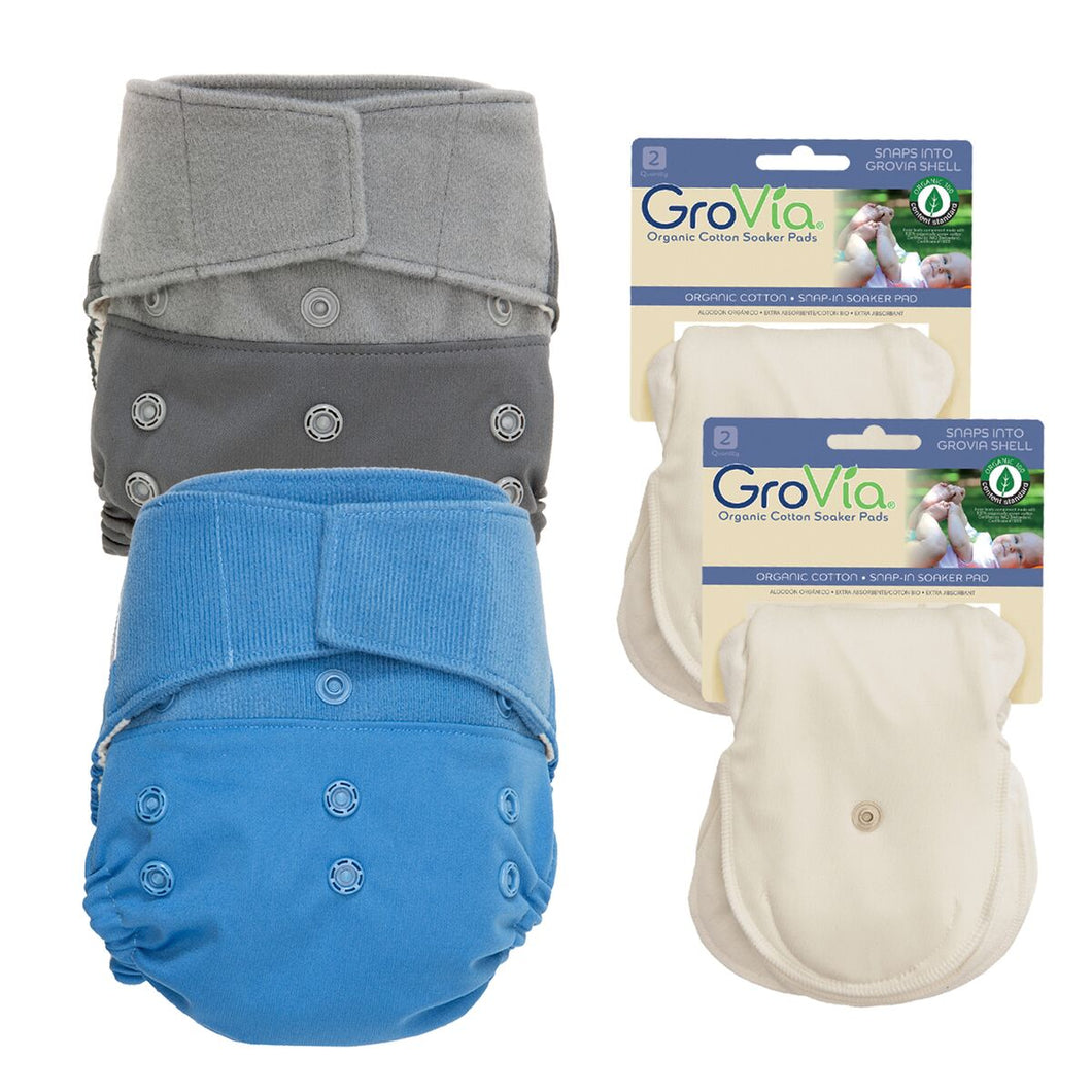 Grovia Experience Package - Organic Cotton