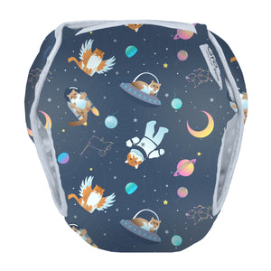 All Good Cats Go To Space - Swim Nappy