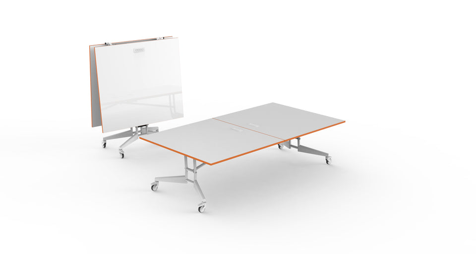 NOMAD SPORT - 3 in 1 Folding Ping Pong Conference Table and Whiteboard
