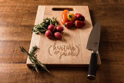 Personalized charcuterie board, Custom Cutting Board, Wedding Gift by Well Written Gifts
