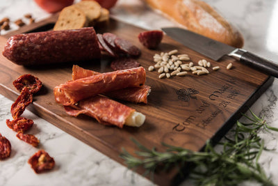 Engraved Charcuterie Board, Irish Gift, by Well Written Gifts