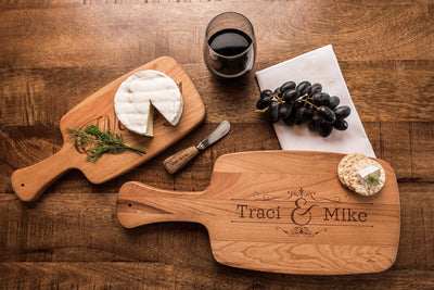 Wedding Gift for Couple, Cheese Board, Cutting Boards Personalized by Well Written Gifts