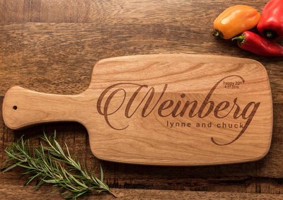 Kosher Gift | Custom Cutting Board | Personalized Cheese Board | Wedding Gift by Well Written Gifts