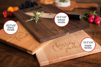 Personalized Charcuterie Board - Engagement Gifts for Couple - Custom Wedding Gift