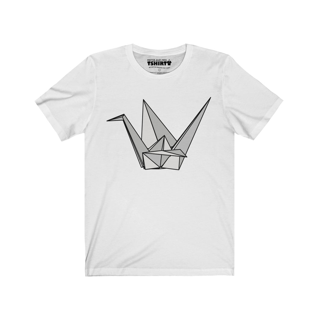 Mister origami mister and miss tshirt printed in usa visit origami crane mister tshirt t shirt misterandmisstshirt jeuxipadfo Gallery