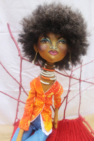 Pride - African American Cloth Doll