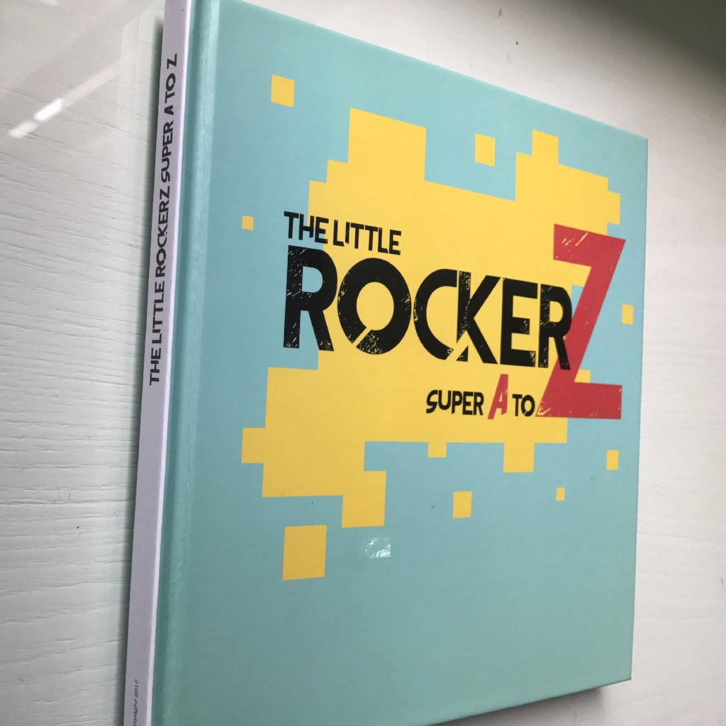 7b20ad2dc9c The Little Rockerz  Super A to Z Kids Book (FREE Shipping) IN STOCK