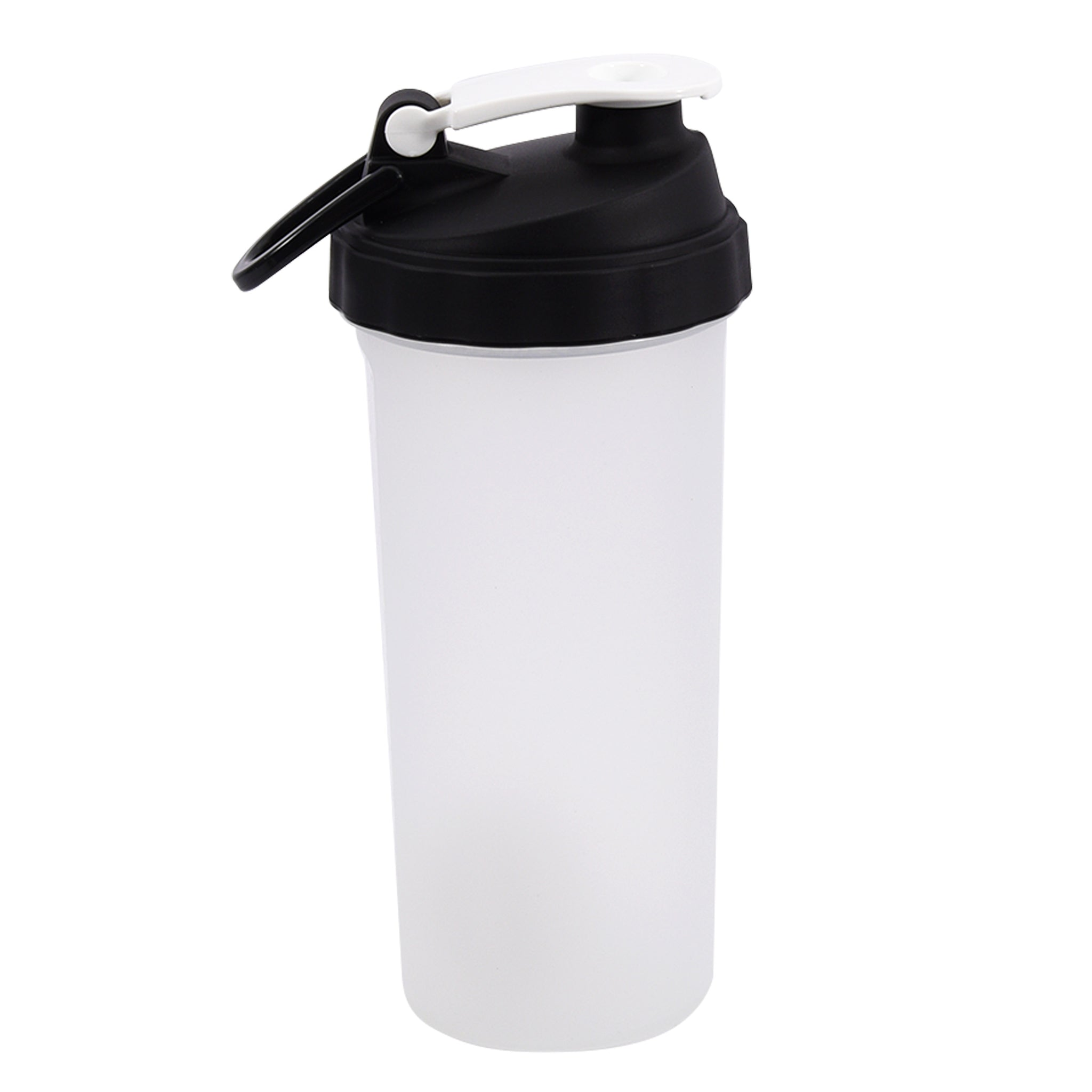 Clear/White Shaker Cup