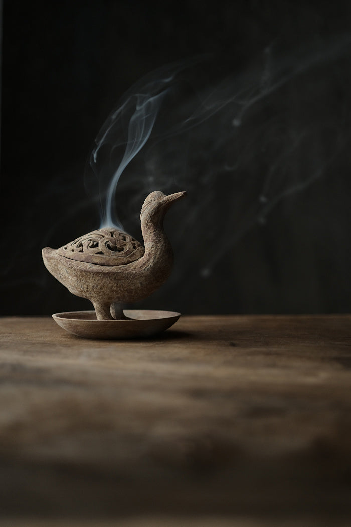 Hand-Made Duck Incense Burners