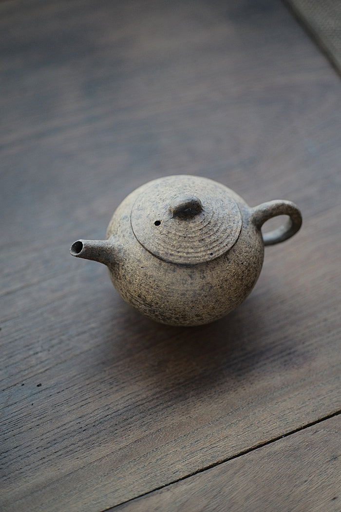 Hazelnut Powder-Glazed Teapot