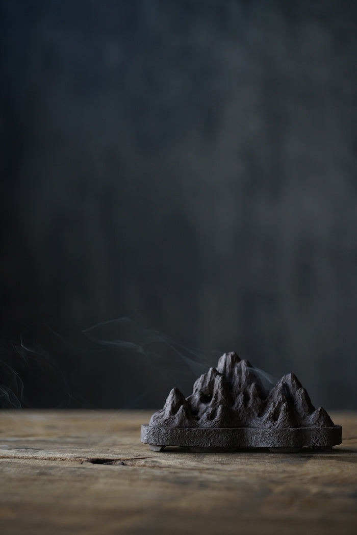 Heavenly Mountains Incense Burner