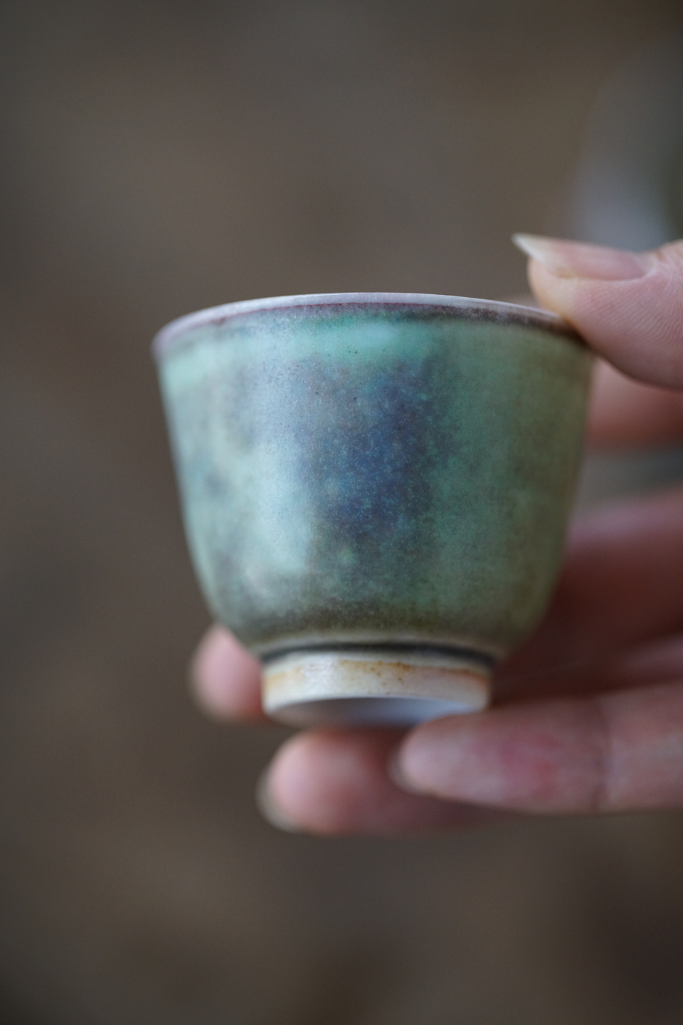 Soda-fired Teacup