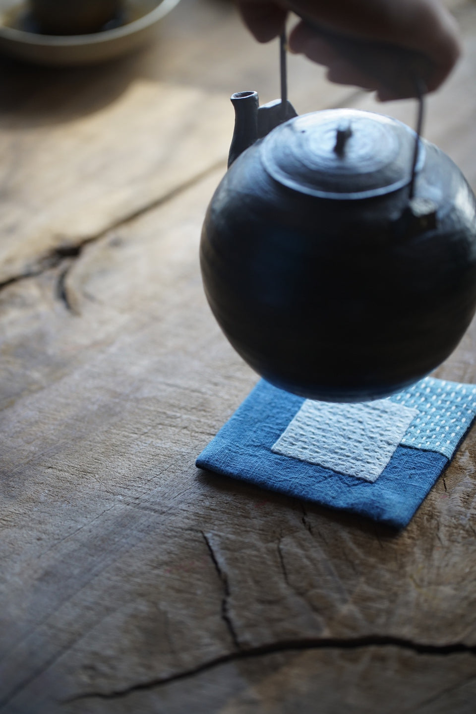 Reclaimed Cloth Coaster Mats