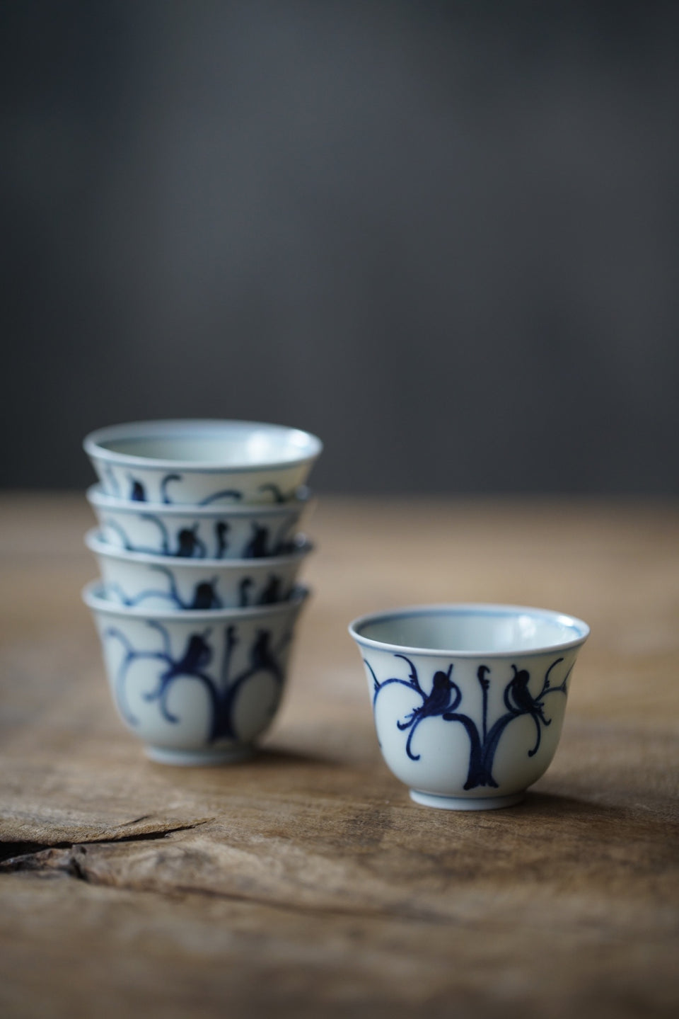 Birds in Trees Qinghua Teacup