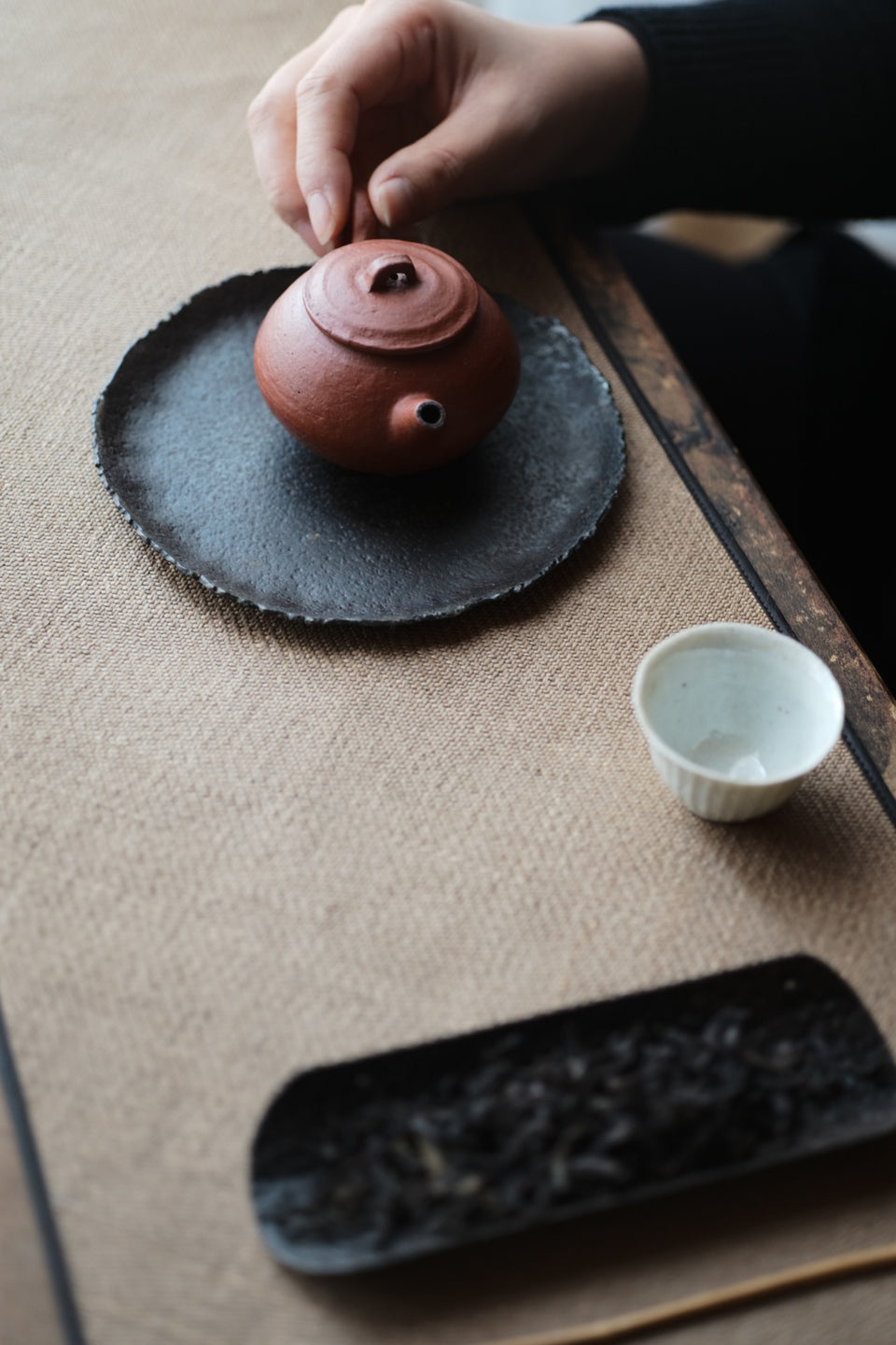 Huishan Small Red Teapot (Chen Wei)