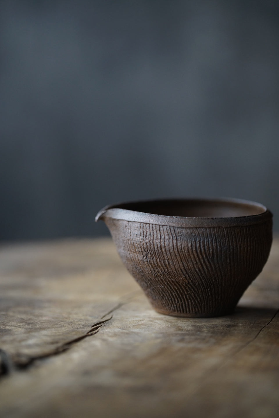Patterned Clay Gongdaobei Pitcher (Chen Wei)