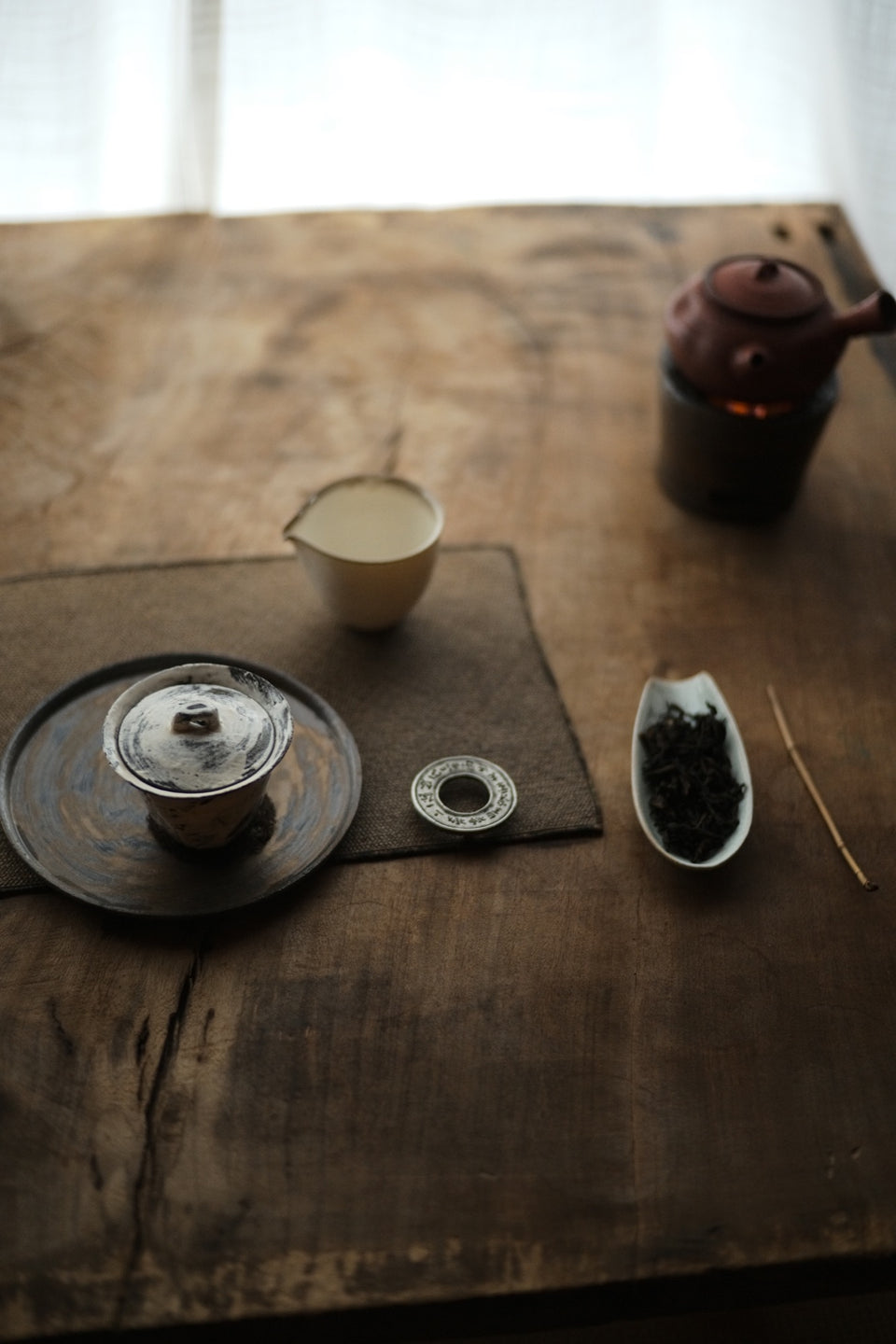 Powder-Brushed Gaiwan (Chen Wei)