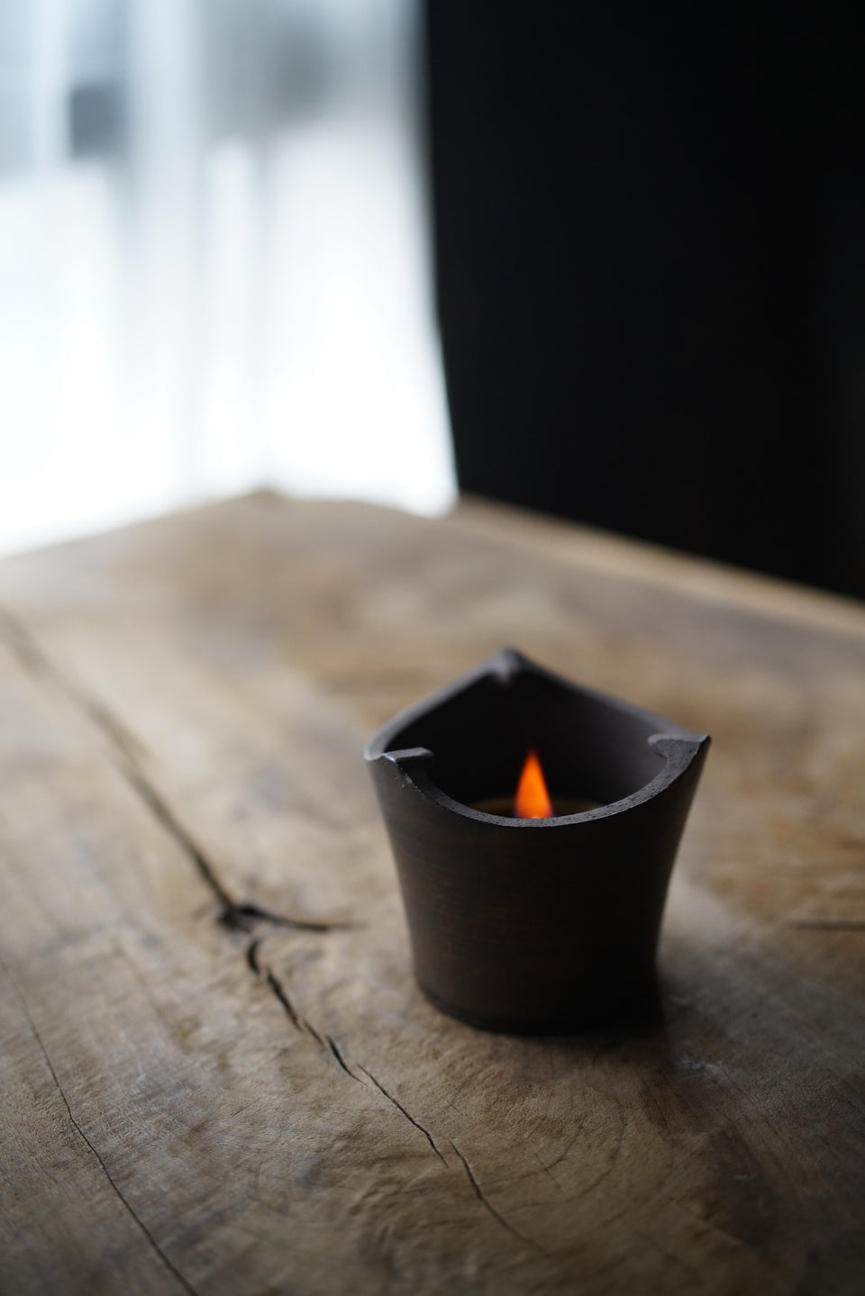 Simple Metal-Glazed Fenglu Air Stove
