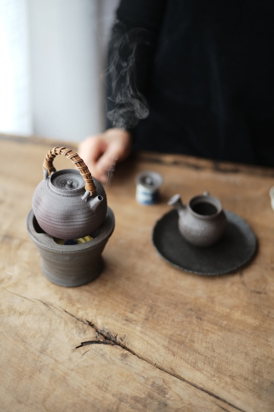 Ceramic Kettle & Fenglu Set (Chen Wei)