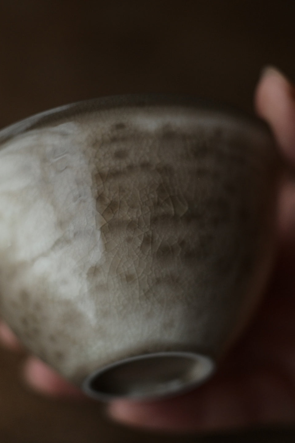 Wood-Fired Crackle Glazed Gongdaobei Pitcher