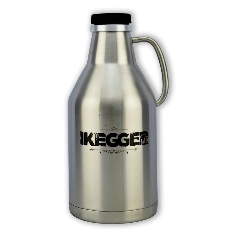 Kegs And Growlers - The Growler | 2L Insulated Steel Beer Growler | IKegger