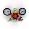 MK4 Dual Gauge Regulator  | CO2, N2,CO2+N2 mix | DIN477(21.8 x 1/14) THREAD |Multi Gas |