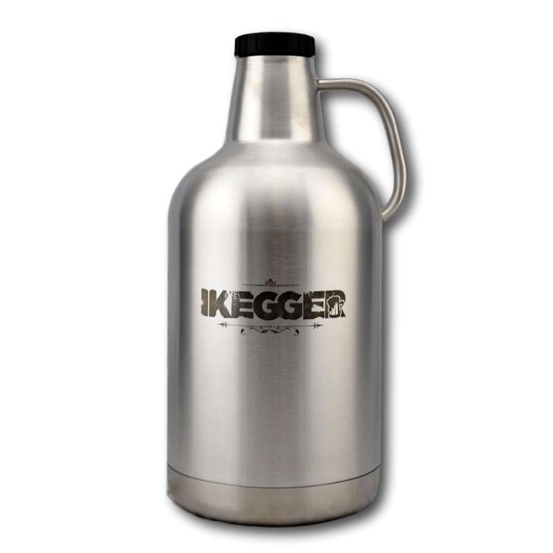 "4L Insulated Beer Growler | 4L Thermo-Growler | ""BBW"" - iKegger Pty Ltd (Europe Branch)"