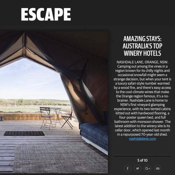 Top Winery Stay