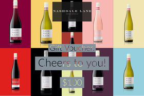 Nashdale Lane Wines Gift Voucher $100