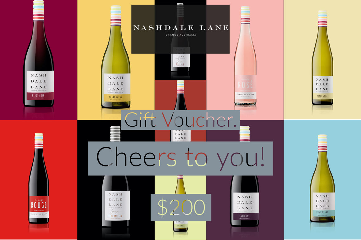 Nashdale Lane Wines Gift Voucher $200