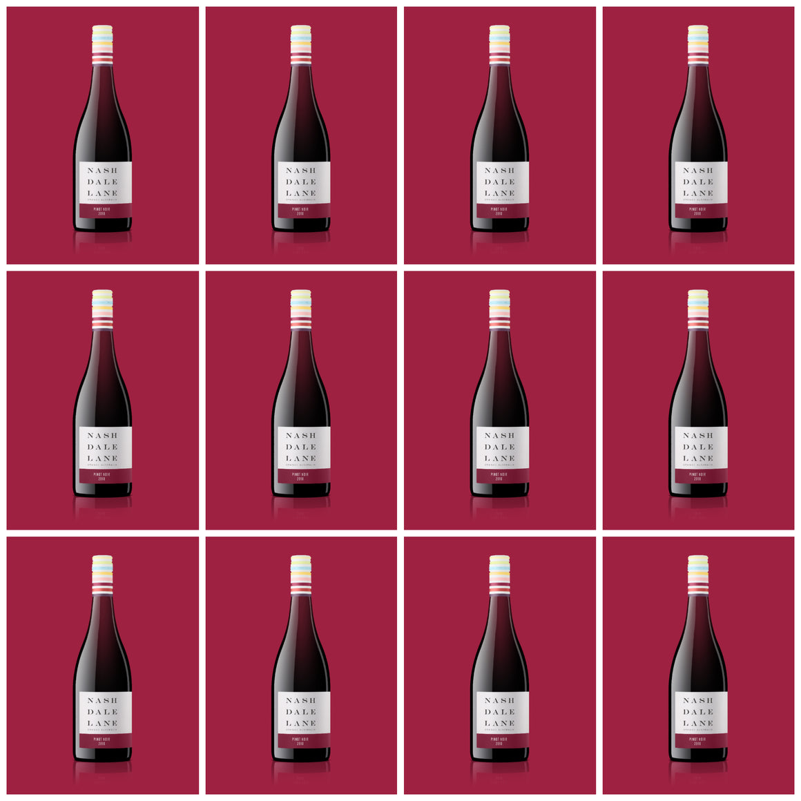 2018 Colour Series Pinot Noir 12 bottle case