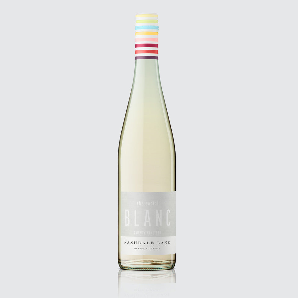 2019 the social Blanc by Nashdale Lane Wines
