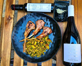 Nashdale Lane Gourmet Lamb Cutlets & Salad for two