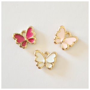 1 x Butterfly Charm (multiple colour choices)
