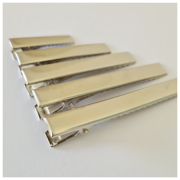 10 x Alligator Clips with Teeth (various sizes)