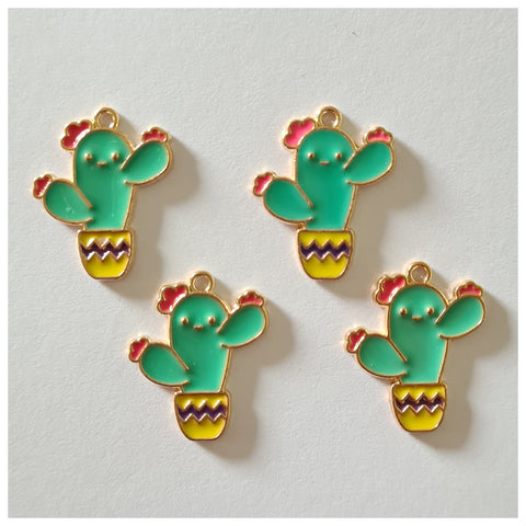 1 x Quirky Cactus Charm