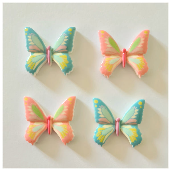 5 x Butterfly Embellishments (2 colour options)