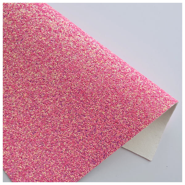 A4 Sheet of Iridescent Peony Sparkle