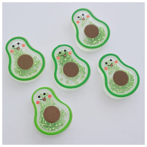 5 x Avocado Beaded Shaker Embellishments
