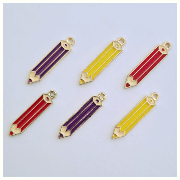 1 x Pencil Charm (3 colour options)