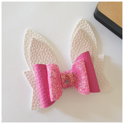 "PRE-ORDER ""Bunny"" Bow Die. Ready to ship 8th June."