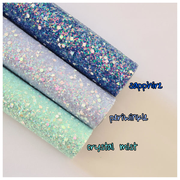A4 Sheet of Periwinkle Razzle Dazzle Glitter