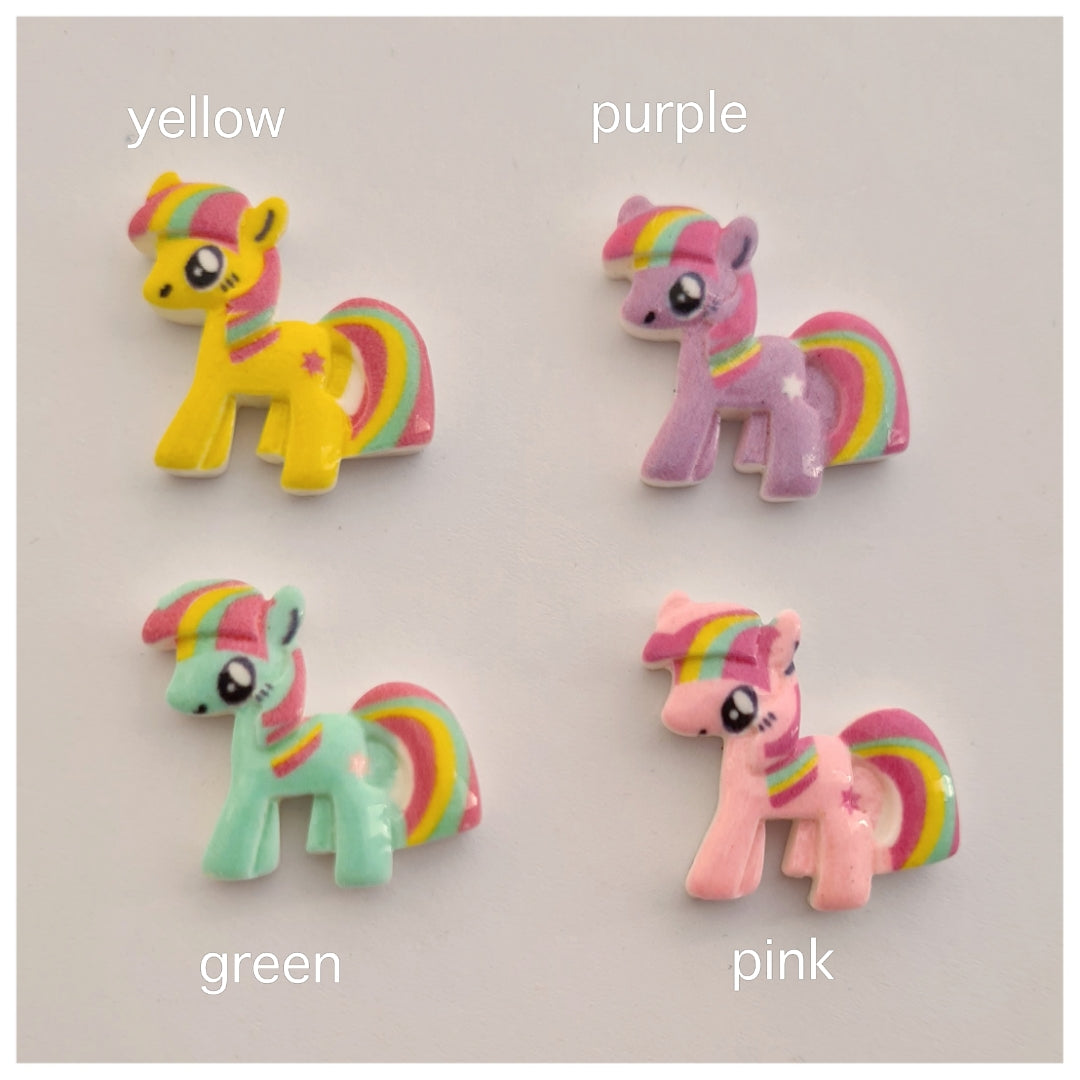 2 x Pony Embellishments (4 colours available)